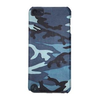 迷彩柄のipod touchの青い箱 iPod touch 5G ケース