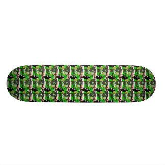 迷彩柄のMaggie板 スケートボードデッキ