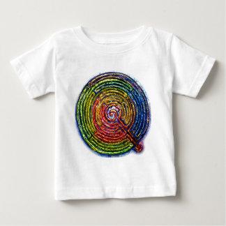迷路 ベビーTシャツ
