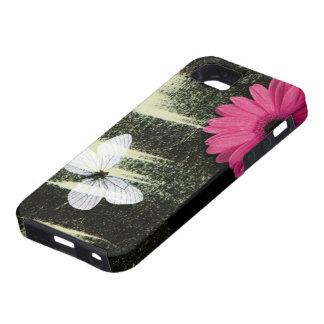 追求lガーベラのデイジーの蝶夢 iPhone SE/5/5s ケース