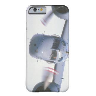 追跡者。 (追跡者; 空; airplane_Military航空機 Barely There iPhone 6 ケース