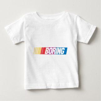 退屈すること ベビーTシャツ