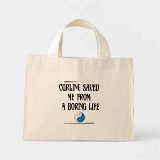 退屈な生命からの私を救われるカール ミニトートバッグ