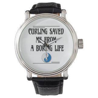 退屈な生命からの私を救われるカール 腕時計