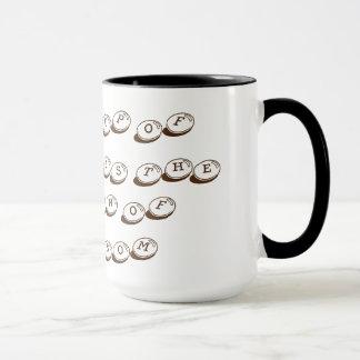 退屈のコーヒー・マグの棺 マグカップ