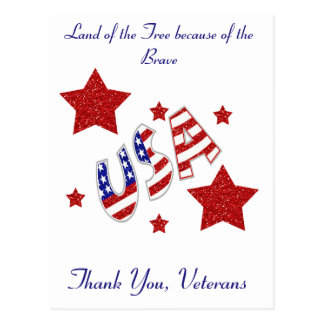 退役軍人ありがとう ポストカード