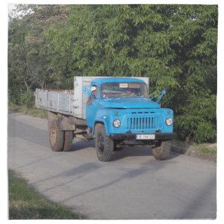 退役軍人のトラック ナプキンクロス