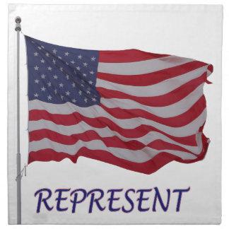 退役軍人の旗は表します ナプキンクロス