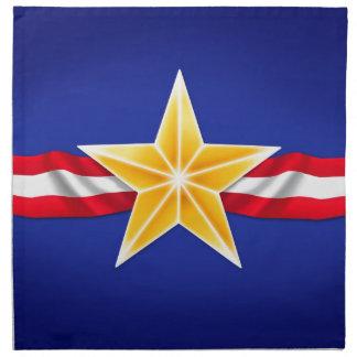 退役軍人の星 ナプキンクロス