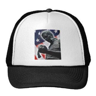 退役軍人 メッシュ帽子