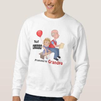 退職したではない促進された祖父 スウェットシャツ