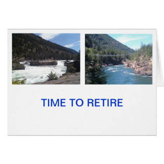 退職したで、楽しむな生命 カード