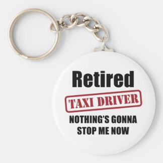 退職したなタクシー運転手 キーホルダー