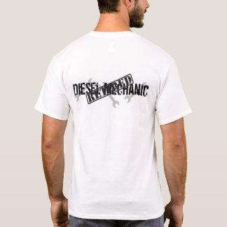 退職したなディーゼル整備士 Tシャツ