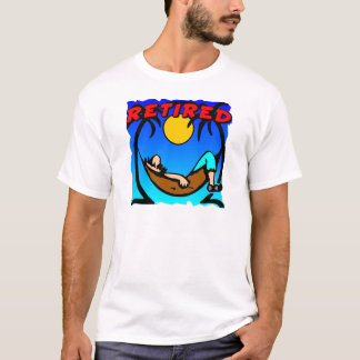 退職したなハンモック Tシャツ