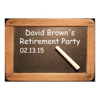 退職したな先生の退職パーティのカスタムの招待状 8.9 X 12.7 インビテーションカード