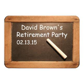 退職したな先生の退職パーティーのカスタムの招待状 カード