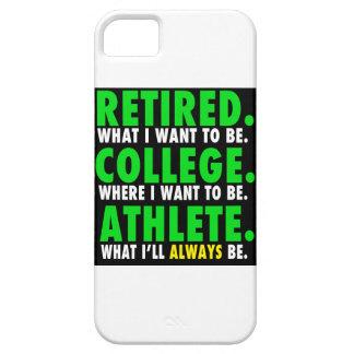 退職したな大学アスリートのiPhone 5/5sの場合 iPhone SE/5/5s ケース