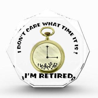 退職したな腕時計賞 表彰盾