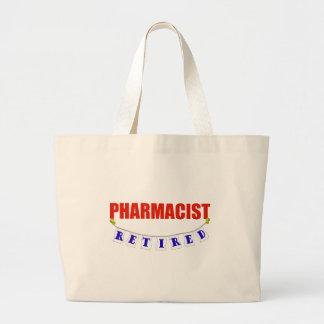 退職したな薬剤師 ラージトートバッグ