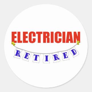 退職したな電気技師 ラウンドシール