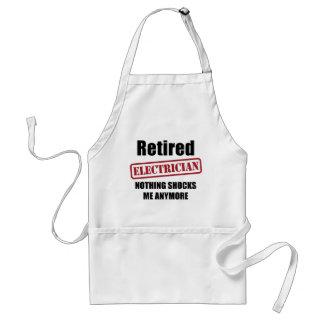 退職したな電気技師(米国の綴り) スタンダードエプロン