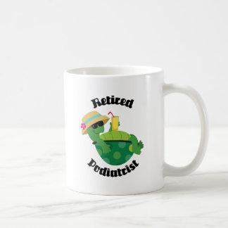 退職したなPodiatrist (カメ) コーヒーマグカップ