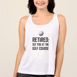 退職したゴルフコースで会って下さい タンクトップ