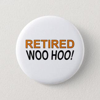 退職したHooに懇願して下さい 5.7cm 丸型バッジ