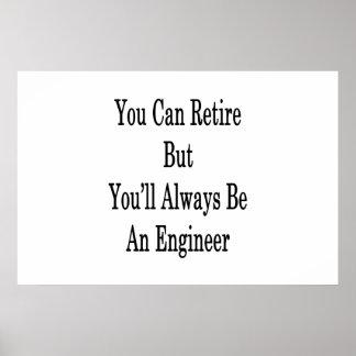 退職できますエンジニア常にです ポスター