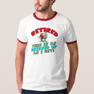 退職のギフトおよび退職のTシャツ Tシャツ