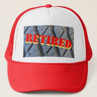 退職のトラックのタイヤの帽子 キャップ