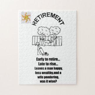 退職のパズル ジグソーパズル