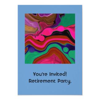退職の招待 カード