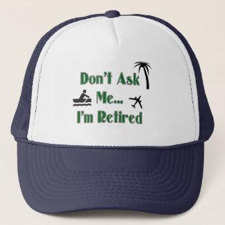 退職の野球帽 キャップ