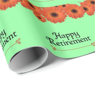 退職を祝って下さい ラッピングペーパー