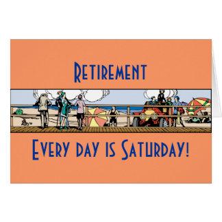 退職: 毎日は土曜日です カード