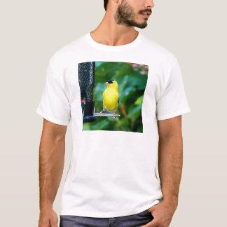 送り装置のGoldfinch Tシャツ