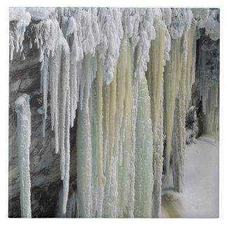 逃げる青い氷そして地下水; Tahquamenon タイル