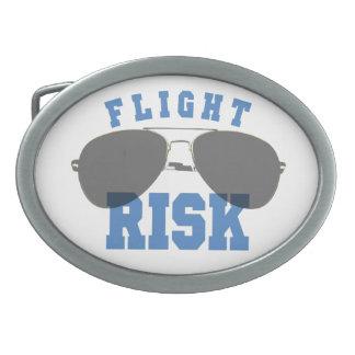 逃亡する危険の航空ガラス 卵形バックル
