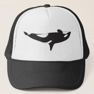 逆さまのクジラ キャップ