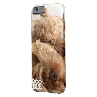 逆さまのgoldendoodleのclubdoodleのiPhone6ケース! Barely There iPhone 6 ケース
