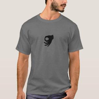 逆さまのOkは一見のワイシャツを作りました Tシャツ