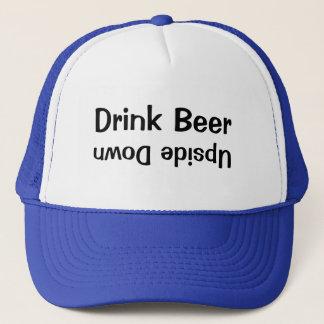 逆さま飲み物ビール キャップ