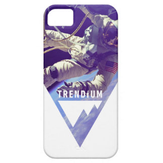 逆にされた三角形のTrendiumの確実な宇宙飛行士 Case-Mate iPhone 5 ケース