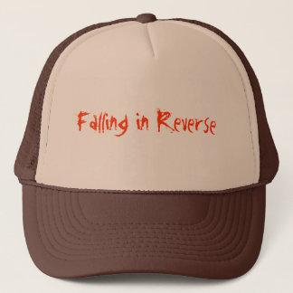逆の帽子の落下 キャップ