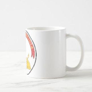 逆パラグアイの紋章付き外衣 コーヒーマグカップ