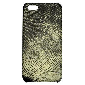 逆転させたループ指紋 iPhone5Cケース