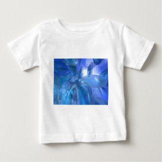 透明で青いリング ベビーTシャツ