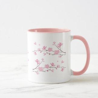 透明な桜- マグカップ